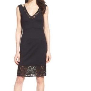 NWT French Connection Tatlin bodycon lace dress